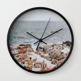 capri, italy Wall Clock
