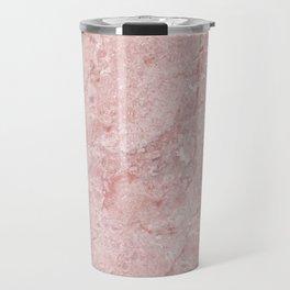 Blush Pink Marble Travel Mug