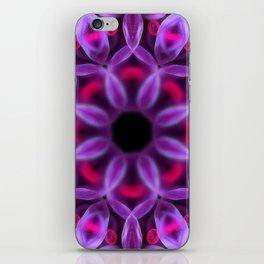 Violet Mandala for Healing iPhone Skin