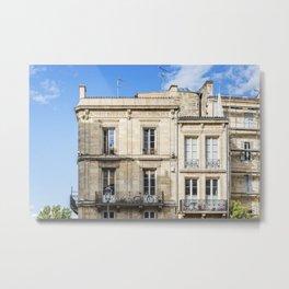 Old building in  Bordeaux Metal Print