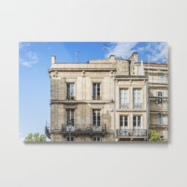Old building in  Bordeaux Metal Print