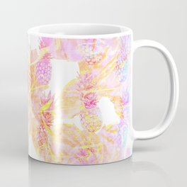Abstract Pastel Pineapple Coffee Mug