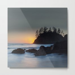 Pewetole Sunset Metal Print