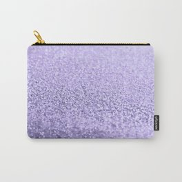 PURPLE LAVENDER Carry-All Pouch