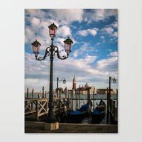 venice Canvas Prints featuring Venice by Michelle McConnell