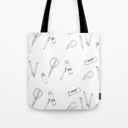STATIONERY Tote Bag