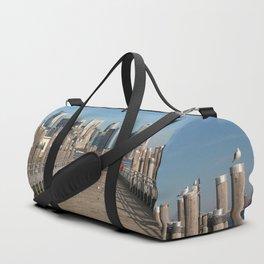New York City Skyline Duffle Bag