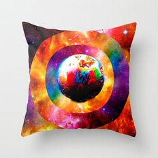 Radtanium Throw Pillow