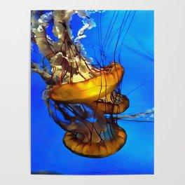 Jellyfishing Poster