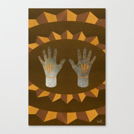The English Accent - (ASL Marquetry Series) Canvas Print
