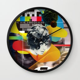 Television Art Wall Clock