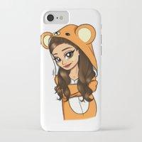 onesie iPhone & iPod Cases featuring Bear Onesie by Milou Baars