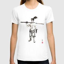 Yagyu Mitsuyoshi Legendary Samurai  T-shirt