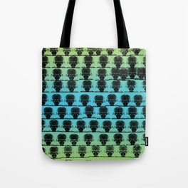 Aliens Listening to Headphones Coming For You Tote Bag