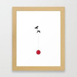 Red Balloon 1 Framed Art Print