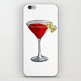 Cosmopolitan - Classic Cocktails series iPhone Skin