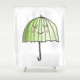 cute UMBRELLA Shower Curtain