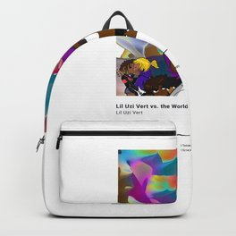 Lil Uzi Vert - Lil Uzi Vert vs. the World - Album Illustration Hip Hop Backpack