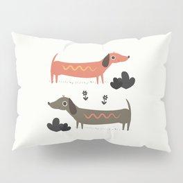Wiener Dogs Pillow Sham