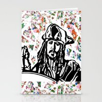 jack sparrow Stationery Cards featuring Jack Sparrow....Captain Jack Sparrow.. by Kramcox