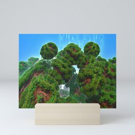 Bacterium Hedgerow Mini Art Print