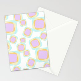 Fair Retro Pattern Stationery Cards