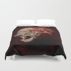 HeartSkull Duvet Cover