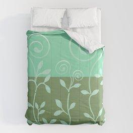VINEIRI   moss aqua Comforters