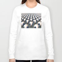 army Long Sleeve T-shirts featuring Alien Army by Phil Perkins