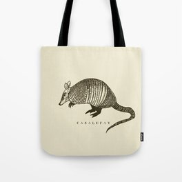 Armadillo power Tote Bag