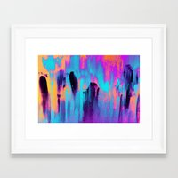 paradise Framed Art Prints featuring Paradise by Elisabeth Fredriksson