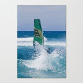 Hookipa Windsurfing North Shore Maui Hawaii Canvas Print