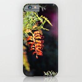 Glowing Grevillea iPhone Case