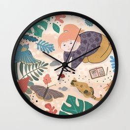My Discoveries Wall Clock