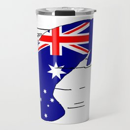 Australian Flag - Manatee Travel Mug
