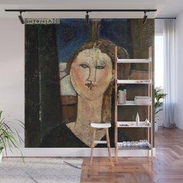 "Amedeo Modigliani ""Antonia"" Wall Mural"
