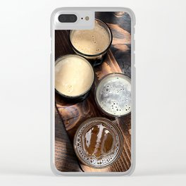 Flight of Beer Clear iPhone Case