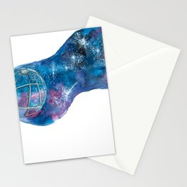 Space, the final frontier Stationery Cards