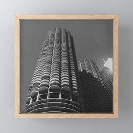 Marina Towers, Chicago Framed Mini Art Print