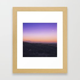Moonlit Twilight Framed Art Print