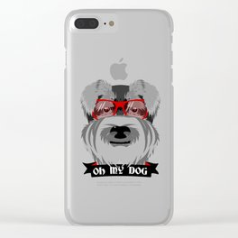 Oh My Dog Clear iPhone Case