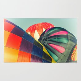 Balloon Love: up up and away! Rug