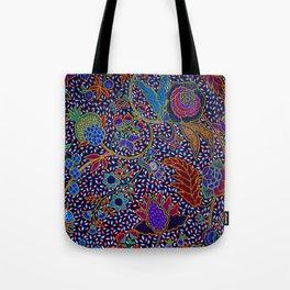 Tahitian Island Style Exotic Pattern Tote Bag