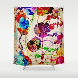 Abstract Expressionism 2 Shower Curtain