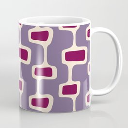 Mid Century Shapes 3 Coffee Mug