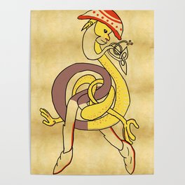 Celtic Redcap Poster