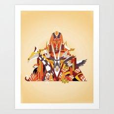 Desert Art Print