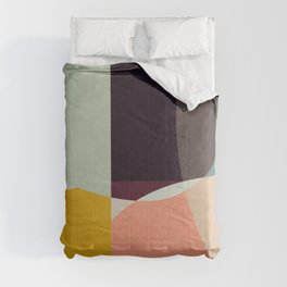 shapes abstract Comforters