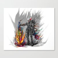 viking Canvas Prints featuring viking by ururuty