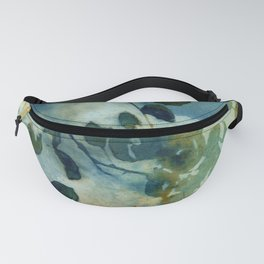 Abstract Shadows Cyanotype Fanny Pack